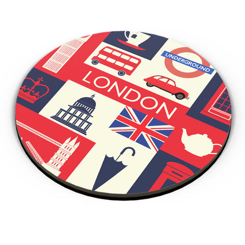 PosterGuy | London City Illustration Fridge Magnet Online India by Arush