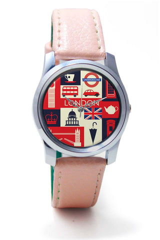 Women Wrist Watch India | London City Illustration Wrist Watch Online India
