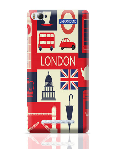 Xiaomi Mi 4i Covers | London City Illustration Xiaomi Mi 4i Cover Online India