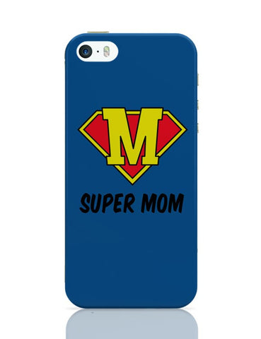 iPhone 5 / 5S Cases & Covers | Super Mom (Version 02) iPhone 5 / 5S Case Cover Online India