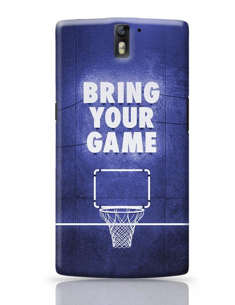 Bring Your Game OnePlus One Covers Cases Online India