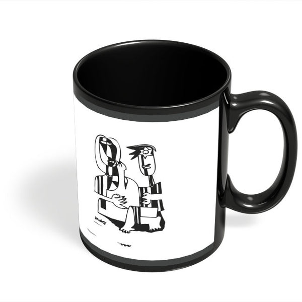 Coffee Mugs Online | Musical Harmony Group Black Coffee Mug Online India