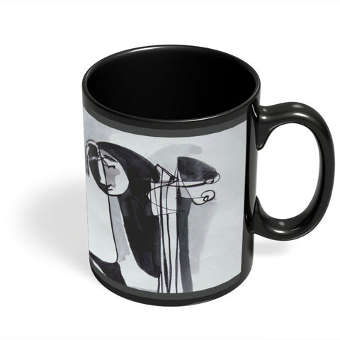 Coffee Mugs Online | A Musician'S Tale Black Coffee Mug Online India