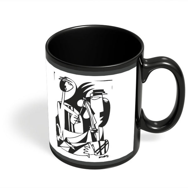 Coffee Mugs Online | Musical Outing Romance Black Coffee Mug Online India