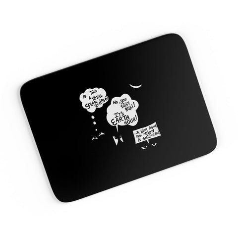 Total Solar Eclipse | Earth Hour A4 Mousepad Online India