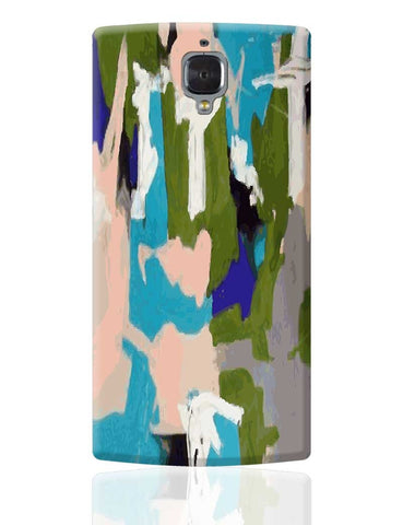 Abstract Art Splash  OnePlus 3 Cover Online India