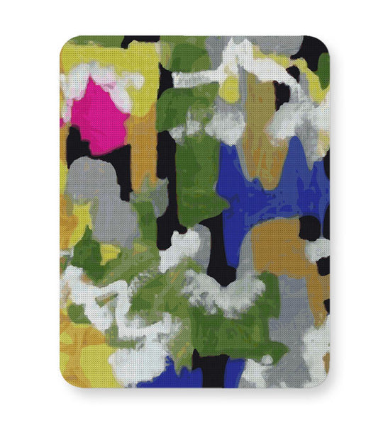 Buy Mousepads Online India | Abstrat Art Hand Drawn Mouse Pad Online India