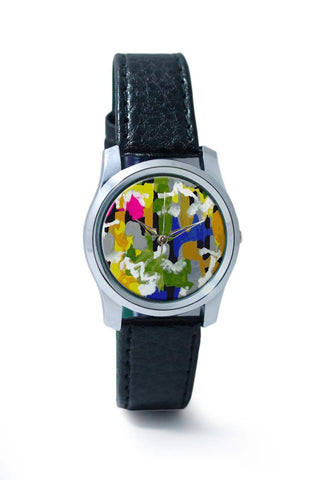 Women Wrist Watch India | Abstrat Art Hand Drawn Wrist Watch Online India