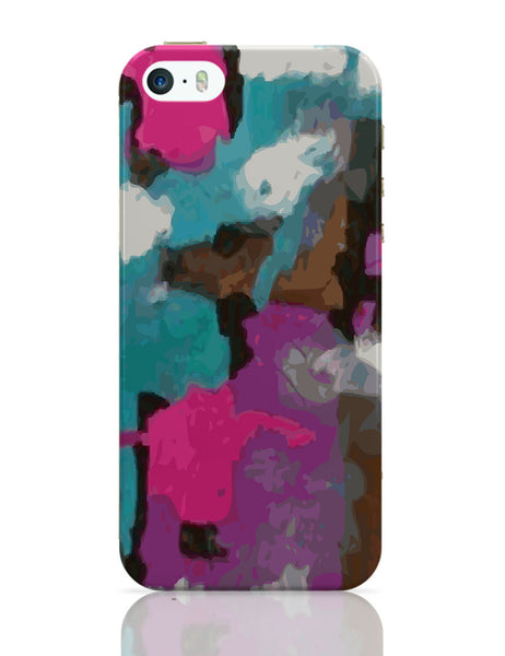 iPhone 5 / 5S Cases & Covers | Abstract Splash iPhone 5 / 5S Case Online India