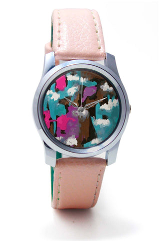 Women Wrist Watch India | Abstract Splash Wrist Watch Online India