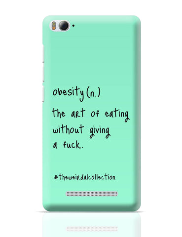 Xiaomi Mi 4i Covers | Obesity ! The Art Of Eating Xiaomi Mi 4i Cover Online India