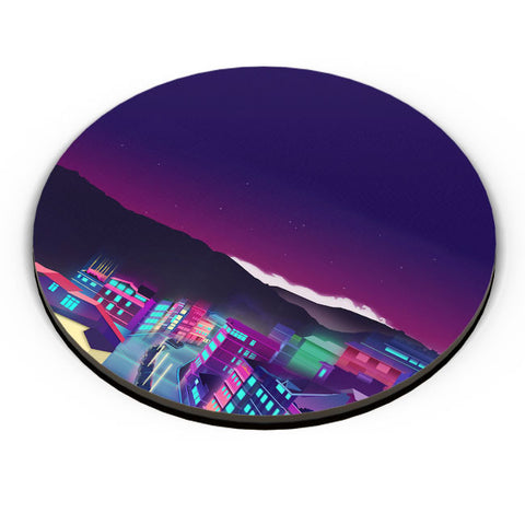 PosterGuy | Gangtok Night Life Fridge Magnet Online India by Jigmi