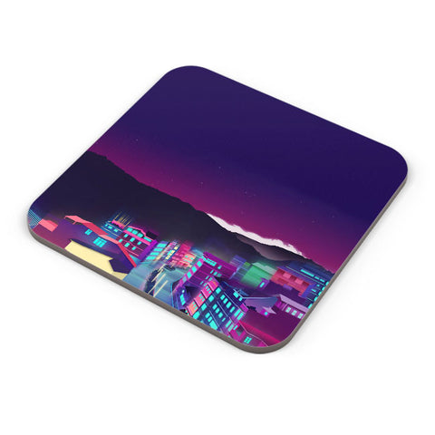 Buy Coasters Online | Gangtok Night Life Coaster Online India | PosterGuy.in