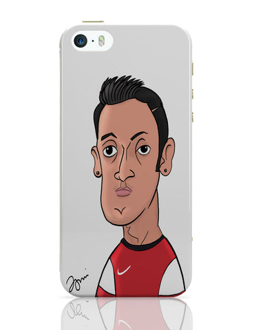 iPhone 5 / 5S Cases & Covers | Mezut Ozil Caricature Illustration iPhone 5 / 5S Case Online India