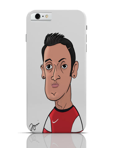 iPhone 6 Covers & Cases | Mezut Ozil Caricature Illustration iPhone 6 Case Online India