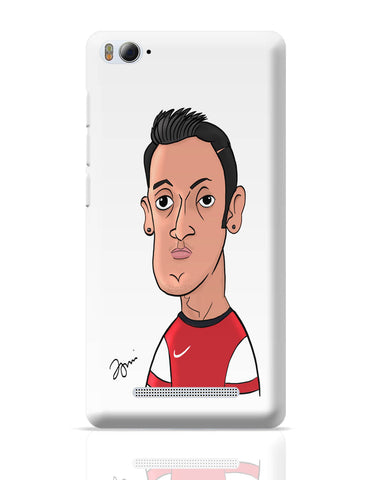 Xiaomi Mi 4i Covers | Mezut Ozil Caricature Illustration Xiaomi Mi 4i Cover Online India
