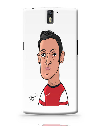 OnePlus One Covers | Mezut Ozil Caricature Illustration OnePlus One Cover Online India