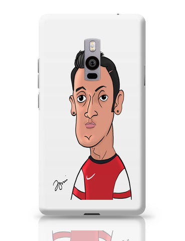 OnePlus Two Covers | Mezut Ozil Caricature Illustration OnePlus Two Cover Online India