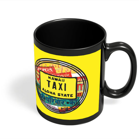 Coffee Mugs Online | Aloha Black Coffee Mug Online India
