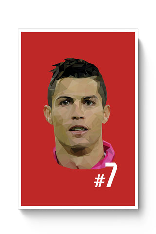 Posters Online | Cr7 Poster Online India | Designed by: Sanchitaa