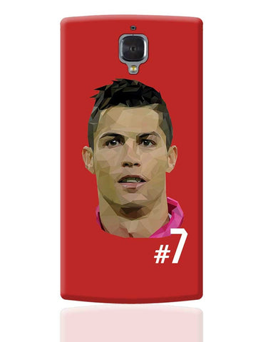 Cr7 OnePlus 3 Cover Online India