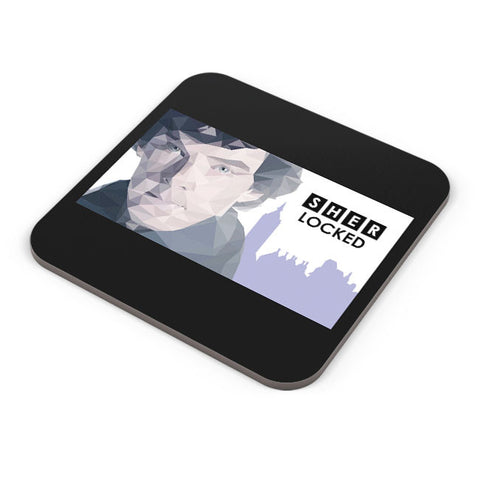 Buy Coasters Online | Sher Locked Coaster Online India | PosterGuy.in