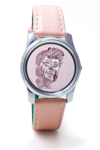 Women Wrist Watch India | Amjad Khan Sketch Painting | Sketch Painting Wrist Watch Online India