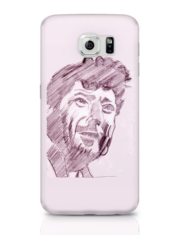 Samsung Galaxy S6 Covers | Amjad Khan Sketch Painting | Sketch Painting Samsung Galaxy S6 Covers Online India