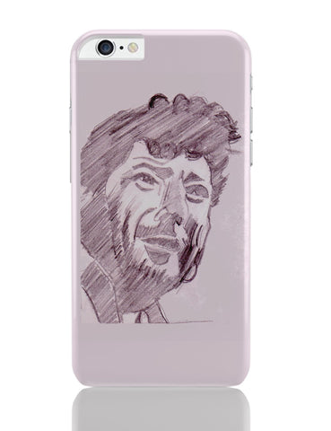 iPhone 6 Plus/iPhone 6S Plus Covers | Amjad Khan Sketch Painting | Sketch Painting iPhone 6 Plus / 6S Plus Covers Online India