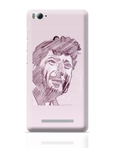 Xiaomi Mi 4i Covers | Amjad Khan Sketch Painting | Sketch Painting Xiaomi Mi 4i Cover Online India