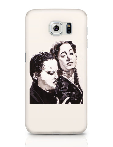 Samsung Galaxy S6 Covers | Guru Dutt And Waheeda Rehman | Sketch Painting Samsung Galaxy S6 Covers Online India