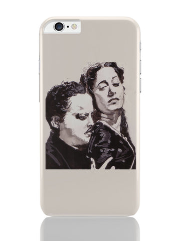 iPhone 6 Plus/iPhone 6S Plus Covers | Guru Dutt And Waheeda Rehman | Sketch Painting iPhone 6 Plus / 6S Plus Covers Online India