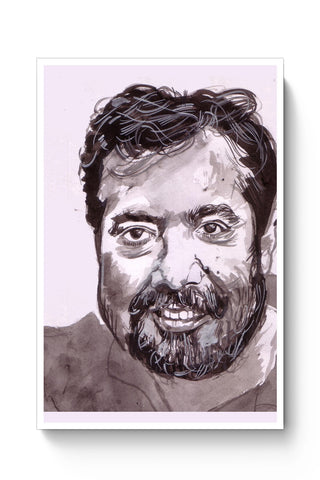 Posters Online | Anurag Kashyap | Sketch Painting Poster Online India | Designed by: HeartAtArt