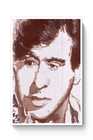 Posters Online | The Dilip Kumar | Sketch Painting Poster Online India | Designed by: HeartAtArt