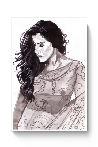 Posters Online | Kajol | Sketch Painting Poster Online India | Designed by: HeartAtArt