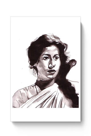 Posters Online | The Madhubala | Sketch Painting Poster Online India | Designed by: HeartAtArt
