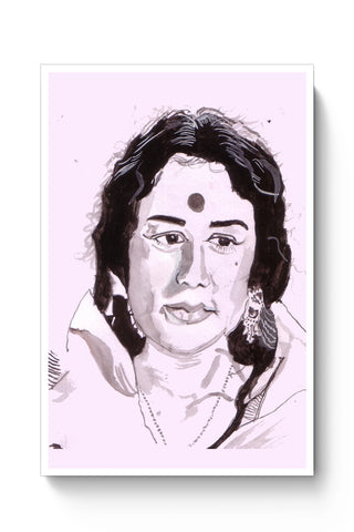 Posters Online | The Nanda Ji | Sketch Painting Poster Online India | Designed by: HeartAtArt