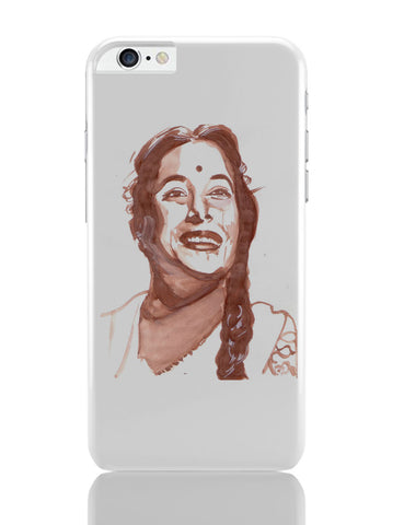 iPhone 6 Plus/iPhone 6S Plus Covers | The Nargis | Sketch Painting iPhone 6 Plus / 6S Plus Covers Online India