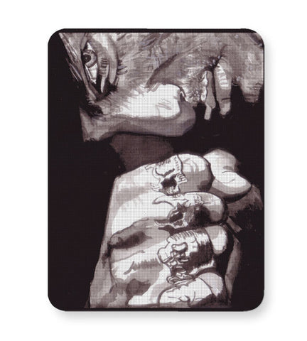 Buy Mousepads Online India | The Punch | Sketch Painting Mouse Pad Online India