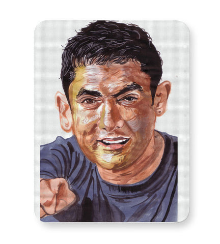 Buy Mousepads Online India | Aamir Khan | Sketch Painting Mouse Pad Online India