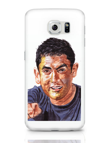 Samsung Galaxy S6 Covers | Aamir Khan | Sketch Painting Samsung Galaxy S6 Covers Online India