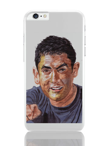 iPhone 6 Plus/iPhone 6S Plus Covers | Aamir Khan | Sketch Painting iPhone 6 Plus / 6S Plus Covers Online India