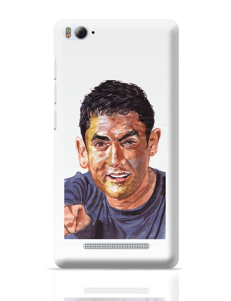 Xiaomi Mi 4i Covers | Aamir Khan | Sketch Painting Xiaomi Mi 4i Cover Online India