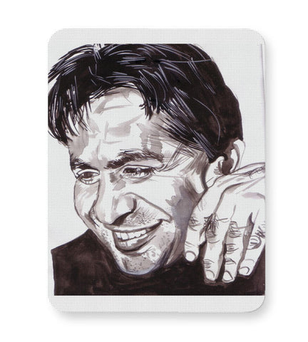 Buy Mousepads Online India | Dilip Kumar | Sketch Painting Mouse Pad Online India