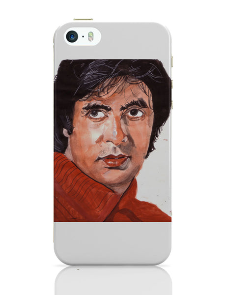 iPhone 5 / 5S Cases & Covers | Amitabh Bachchan Portrait Painting iPhone 5 / 5S Case Online India