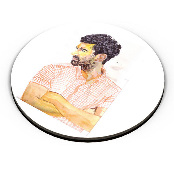 PosterGuy | Arjun Roy Kapoor Portrait Painting Fridge Magnet Online India by HeartAtArt