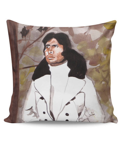 PosterGuy | Amitabh Bachchan Painting Cushion Cover Online India