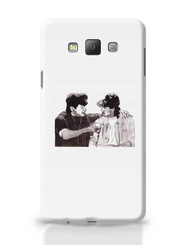 Samsung Galaxy A7 Covers | Aamir Khan And Salman Khan Andaz Apna Apna Painting Samsung Galaxy A7 Covers Online India
