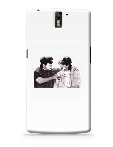 OnePlus One Covers | Aamir Khan And Salman Khan Andaz Apna Apna Painting OnePlus One Cover Online India