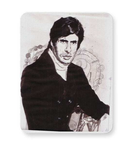 Buy Mousepads Online India | Amitabh Bachchan Painting Mouse Pad Online India